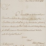 Letter, George Clinton to Thomas Jefferson, 1793