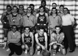 Basketball team, Stony Brook University, circa 1963-1964