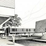 Computer Science building rendering, 1971