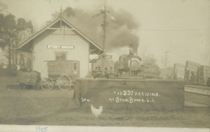 Stony Brook Train Station, 1905, Robert M. Emery Long Island Rail Road Collection