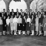 SBU's First Graduating Class, 1961