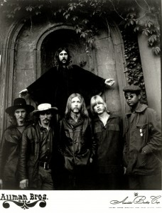 The Allman Brothers Band, 1971. Photo credit: American Booking Corp.