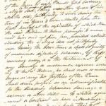Slavery Document, Southampton, New York, 1798