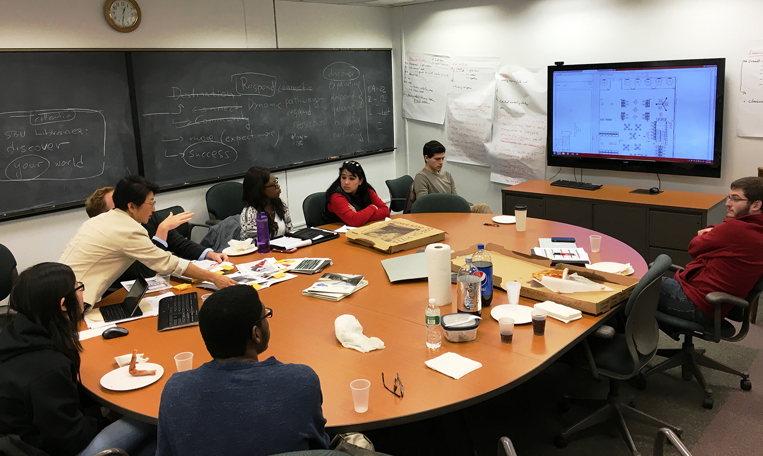 Library Renovation: Student Focus Group Meeting   Stony ...