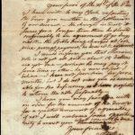 Isaiah Thomas letter, 1805