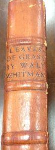 Binding: Whitman, Walt, and Valenti Angelo. Leaves of Grass. New York: Random House, 1930.