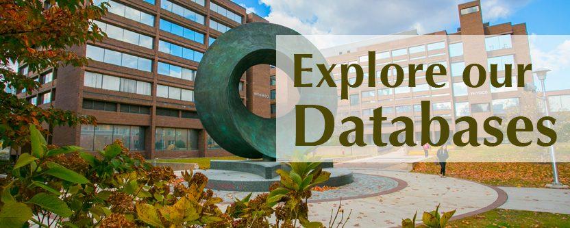 Explore SBU Databases