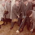 Groundbreaking at SBU, April 6, 1960.