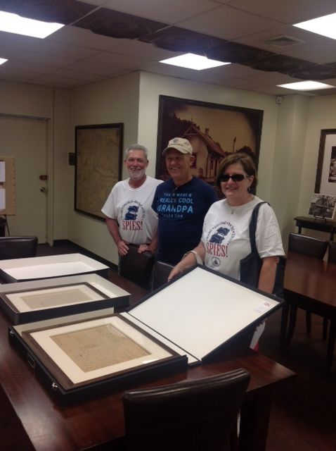 Culper Spy Day in Special Collections on July 23, 2016.