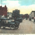 Main Street, Looking West, Huntington, L.I., N.Y., undated.