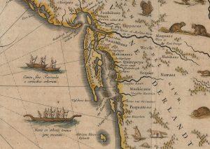 Blaeu, Willem Janszoon, and Joan Blaeu. Nova Belgica et Anglia Nova. [Amsterdami]: [I. and C. Blaeu?], 1640.
