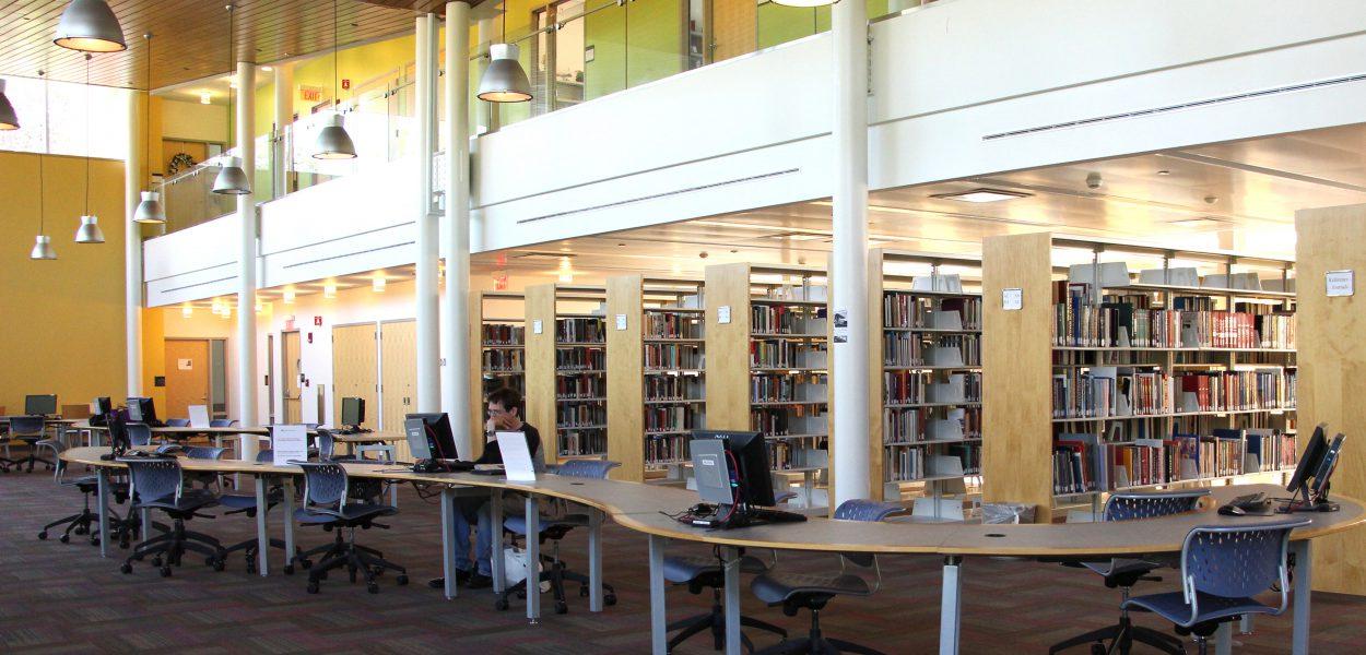 Inside Southampton Library