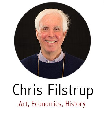 Chris Filstrup, Subject Specialist for History, Economics, Art