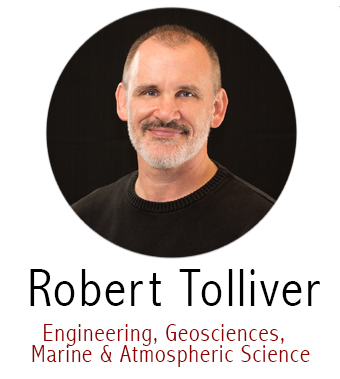 Bob Tolliver, Subject Specialist for Geosciences, Engineering, Maps