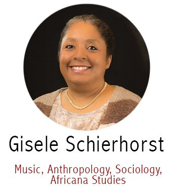 Gisele Schierhorst, Subject Specialist for Music, Anthropology, Sociology, Africana Studies