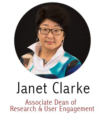 Janet Clarke, Associate Dean for Research and User Engagement