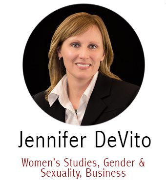 Jennifer Devito, Subject Specialist for Women's Studies, Gender and Sexuality, Business