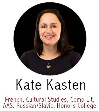 Kate Kasten, Subject Specialist for French, Russian, Cultural Studies, Comparative Literature