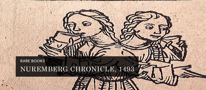 Nuremberg Chronicle, 1493 (Rare Book)