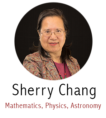 Sherry Chang, Subject Specialist for Math, Physics, Astronomy