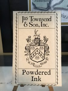 Powdered Ink