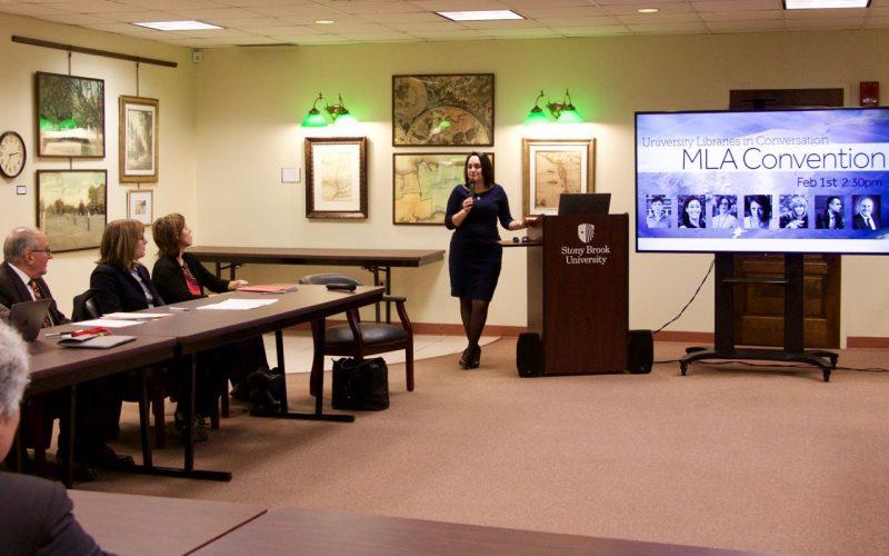 Kate Kasten hosts University Libraries in Conversation: MLA Convention