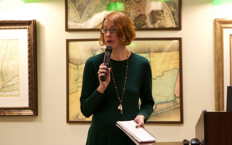 Celia Marshik at University Libraries in Conversation: MLA Convention