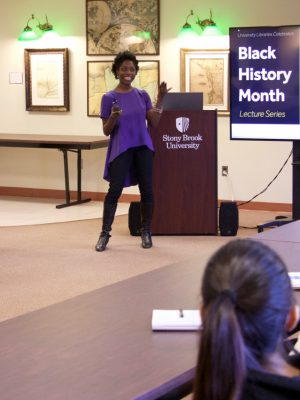 University Libraries celebrates Black History Month with a lecture by Dr. Abena Ampofoa Asare