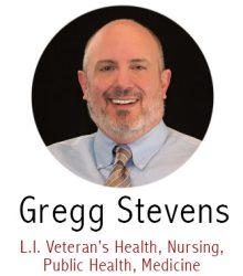 Gregg Stevens, Subject Specialist for Nursing, LI.. Veteran's Health, Public Health, Medicine