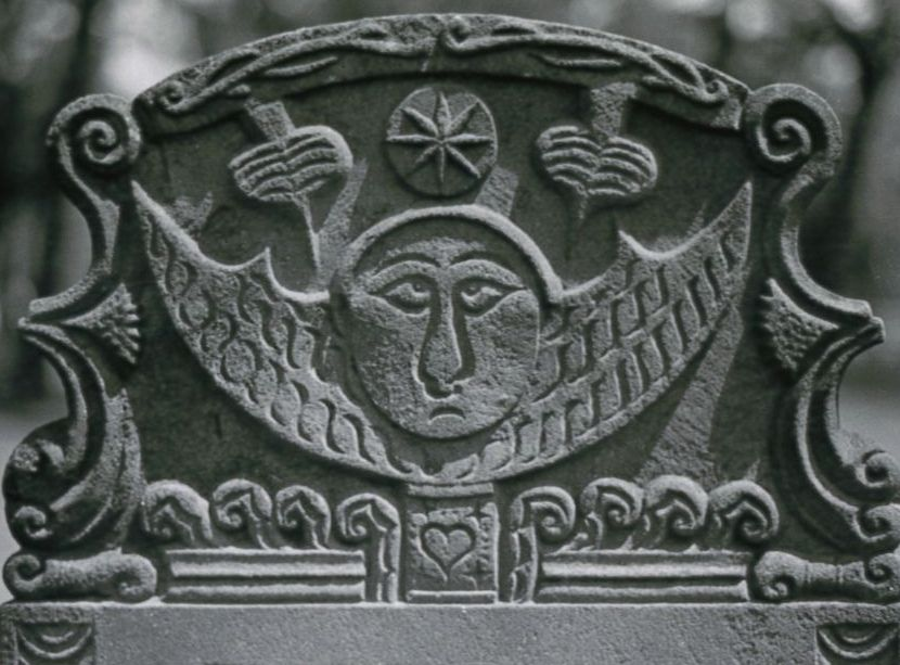 Detail of White, Silvanus, 22 October 1782, Sterling Cemetery, Greenport, NY. Image 14 from the Richard F. Welch Collection.