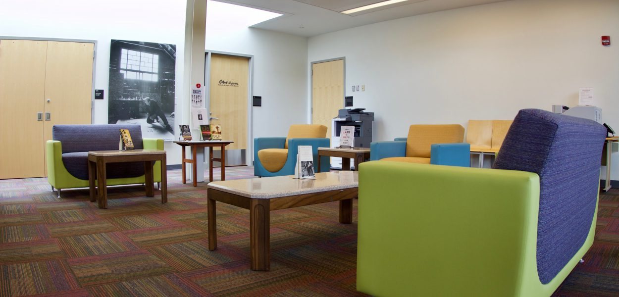 Southampton Library common area