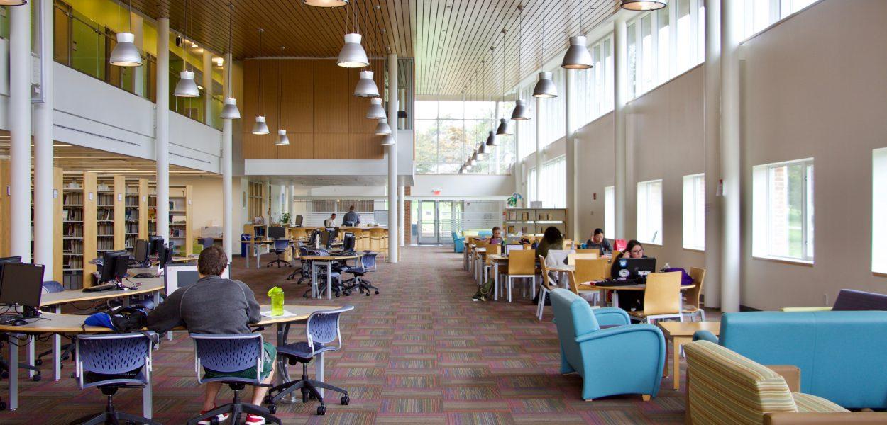 Southampton Library main study area