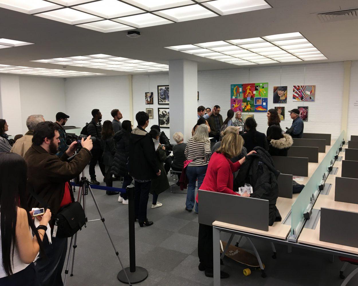 University Libraries Art Crawl 2017