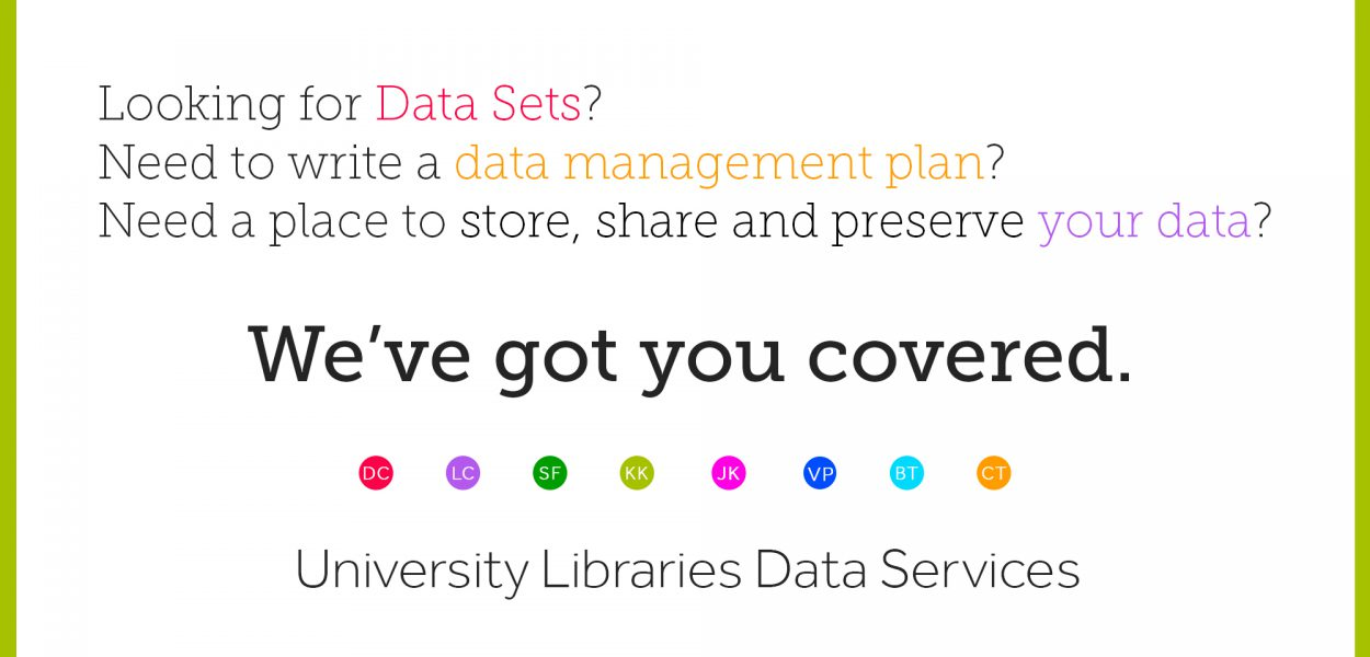 Data Services at Stony Brook University Library