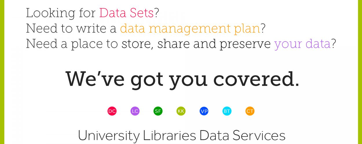 Data Services at University Libraries