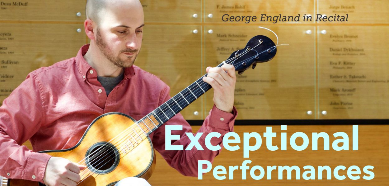 George England in Recital, University Libraries Concert Series