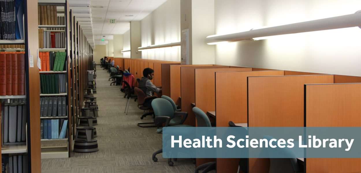 Health Sciences Library study space