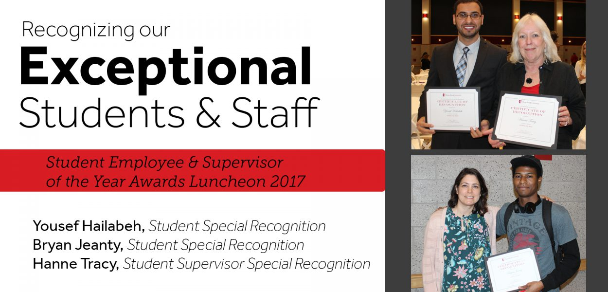 Recognizing our exceptional students and staff