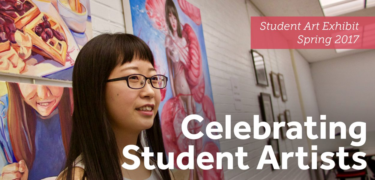 Celebrating Student Artists in the Library