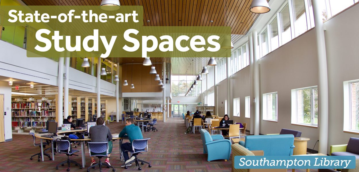 State of the art study spaces - southampton library