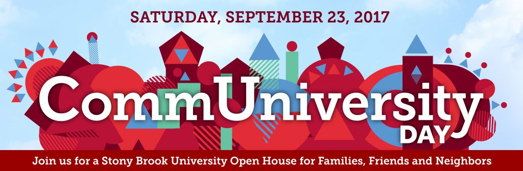 CommUniversity Day, Saturday, September 23, 2017 from 12pm to 4pm.