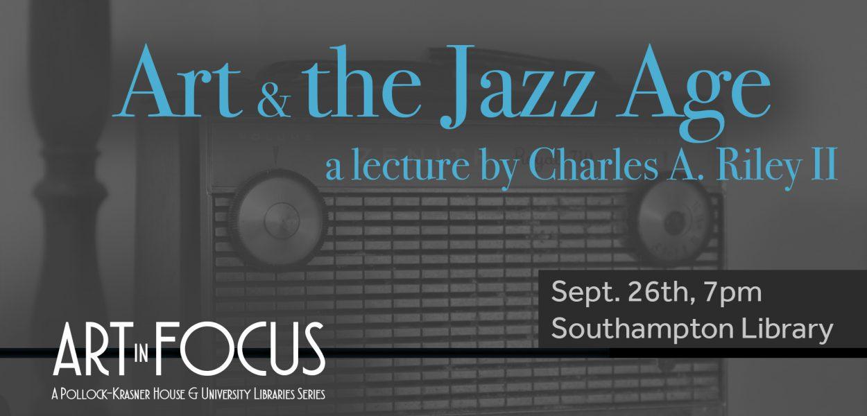 Art & the Jazz Age