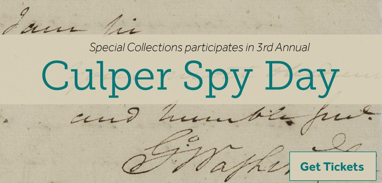 3rd Annual Culper Spy Day