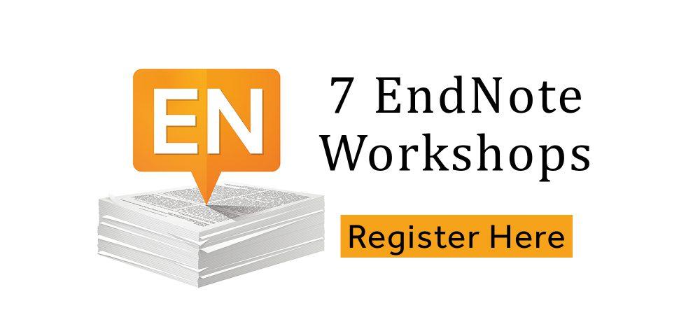 Seven EndNote Workshops