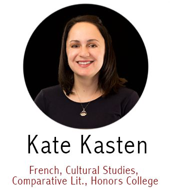 Kate Kasten, Subject Specialist for French, Cultural Studies, Comparative Literature