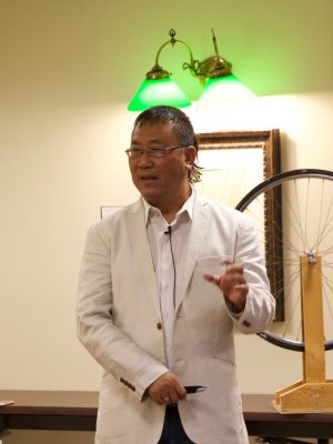 Dr. Chang Kee Jung presents at the STEM Speakers Series