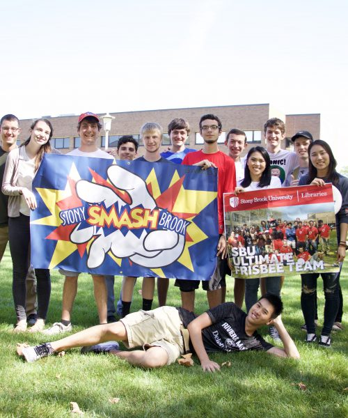 University Libraries & Ultimate Frisbee Hangout 2017