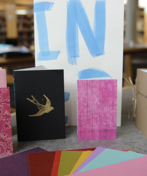 How to make a Chapbook workshop at SBU Southampton Library