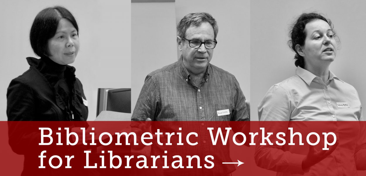 Bibliometric Workshop for Librarians