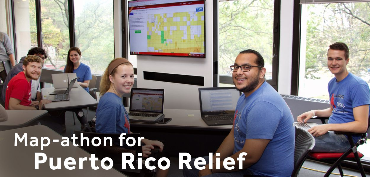 Map-athon for Puerto Rico Relief